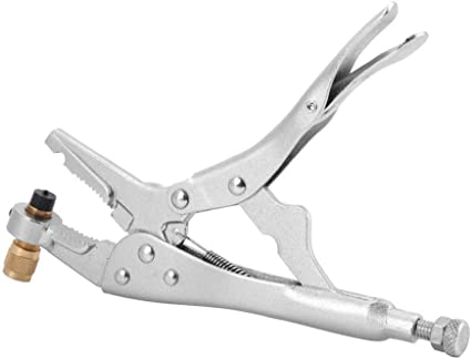 """Details about  /1//4\ Air Conditioner Refrigerant Recovery Refrigeration Tube Locking Plier Tool/"""""""
