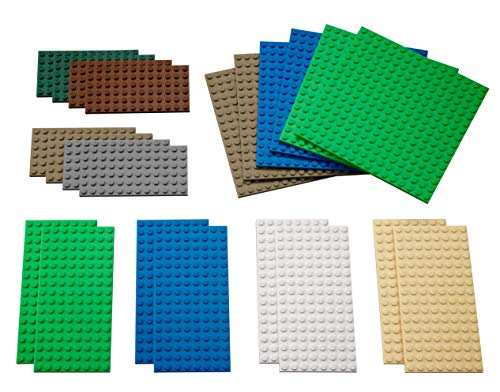 LEGO Education Small Building Plates Set (Lego Junior Bricks)
