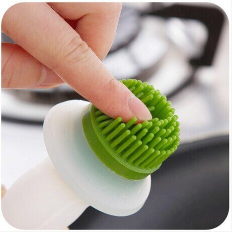 Kitchen Oil Bottle Pot Container Anti Oil Leak with Silicone Oil Brush Grill Brush Bbq Tool Silicone Basting
