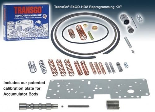 E4OD-HD2 REPROGRAMMING KIT / SHIFT KIT, E4OD / 4R100, TRANSGO 1989-2004 (Kit Shift Hd2)