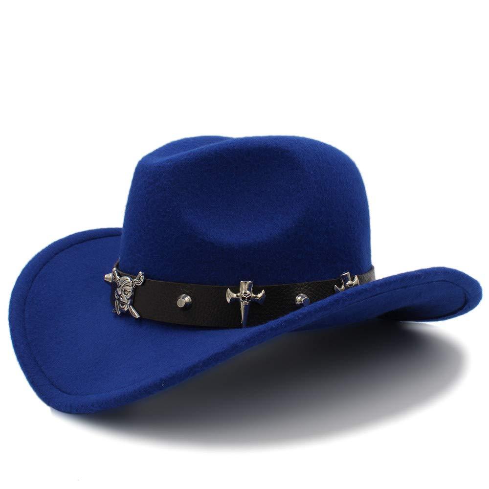 LL Mens Warm Fedora Hat Equestrian Cap Comfortable Dakota Crushable Wool Felt Western Cowboy Casual Hat