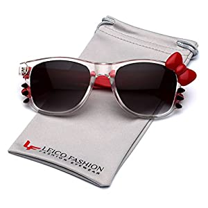 Hello Kitty Bow Women's Fashion Glasses with Bow and Whiskers