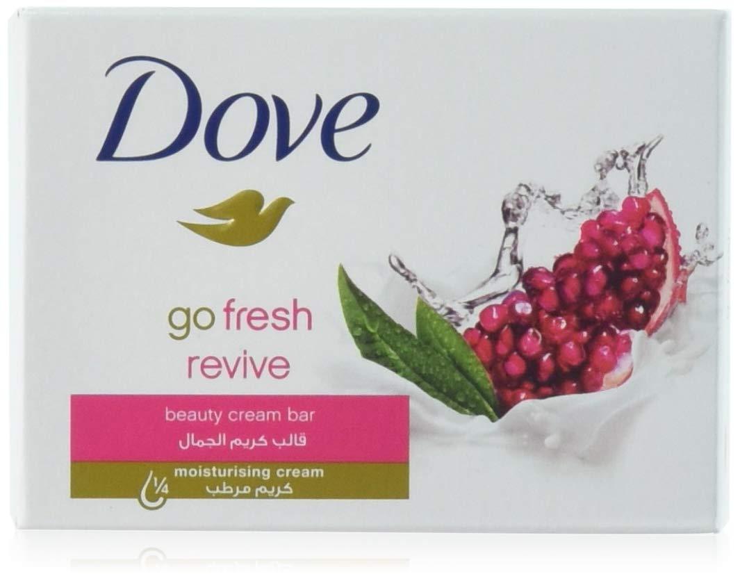 Dove Beauty Cream Bar Soap, Go Fresh Revive,100 G / 3.5 Oz Bars (Pack of 12)
