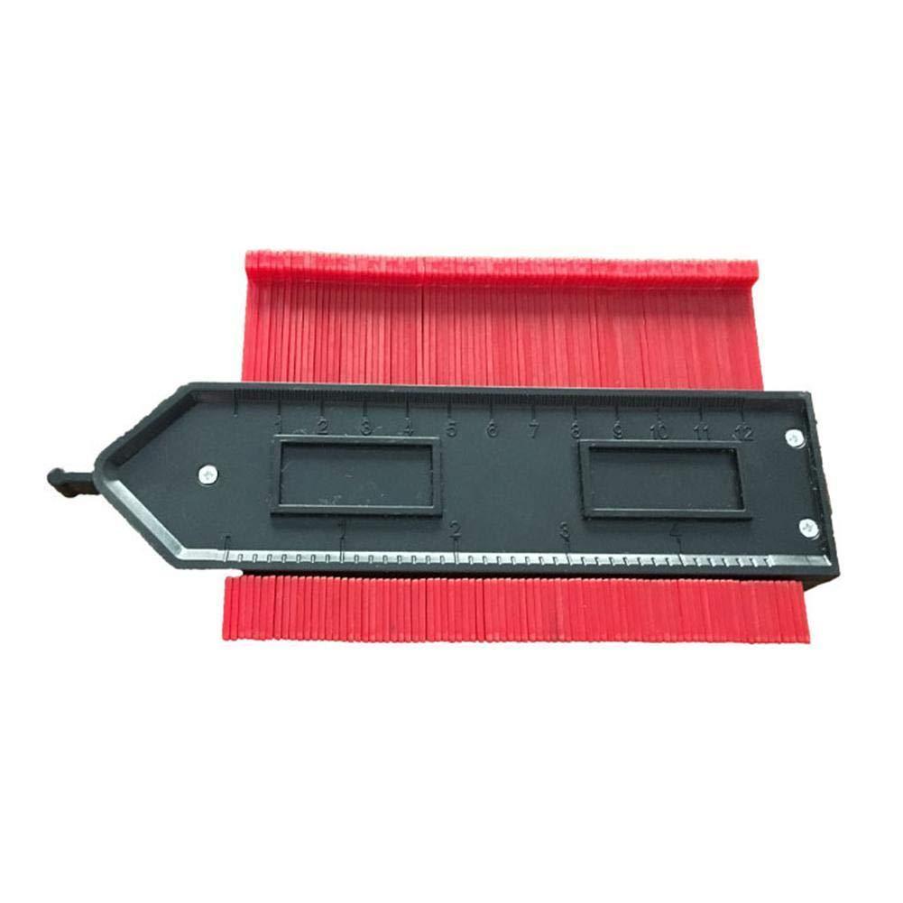 1 contorno Medidor duplicador de copia Red herramientas generales laminado With ruler balanza de madera baldosas pl/ástico
