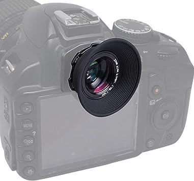 Ocular Eb cámara de Goma para Canon 70D 60D 50D 6D 5D Mark Accesorio Adorno De Marco II