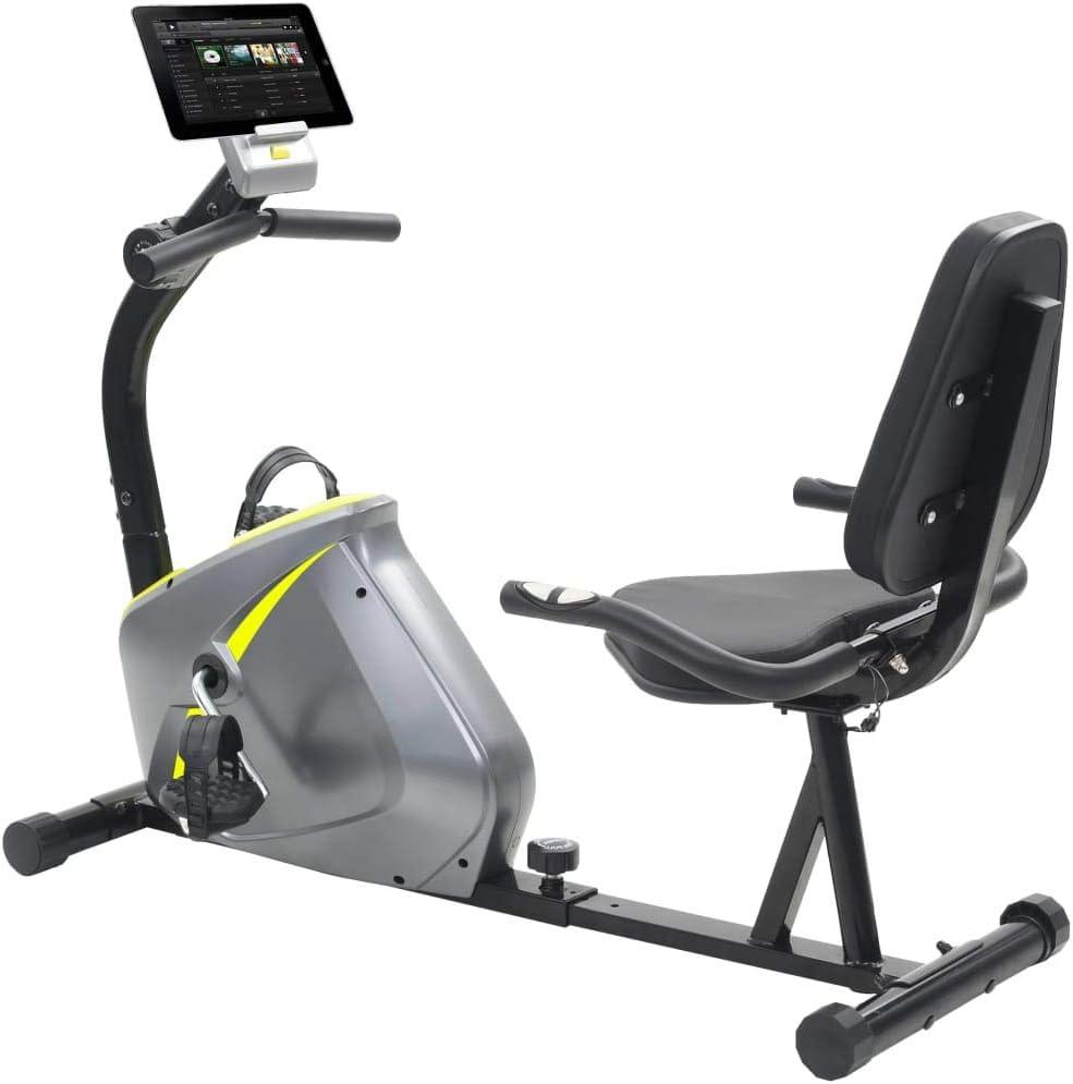UnfadeMemory Bicicleta Elíptica Reclinada Magnética con Pulsómetro ...