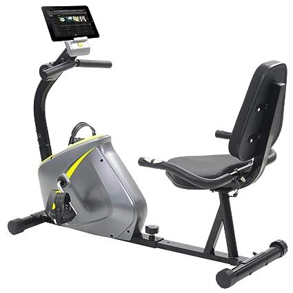 vidaXL Bicicleta Estática Reclinable Giratoria Máquina Fitness ...