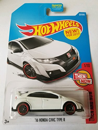 Hot Wheels 2017 Then And Now 16 Honda Civic Type R 327 365  White