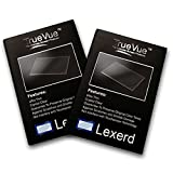 Lexerd - Casio EXILIM EX-H20G TrueVue Crystal Clear Digital Camera Screen Protector (Dual Pack Bundle)