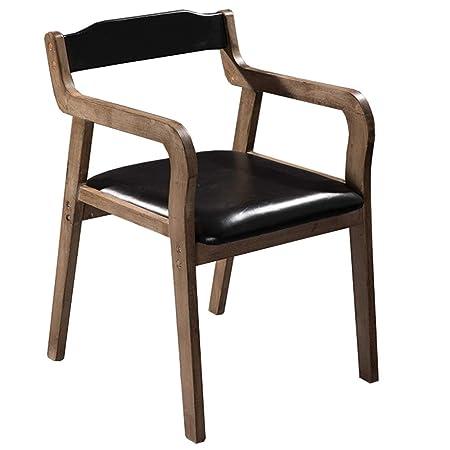Sedie Design Legno E Pelle.Ljfyxz Sedie Da Pranzo Design In Pelle Sintetica E Schienale Sedia