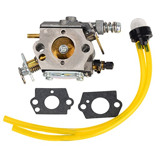 - HIFROM Carburetor with Gasket Replace for Poulan Sears Craftsman Chainsaw Walbro WT-89 WT-891 WT-391 WT-600 Poulan 2075c 20750c 2150 2150LE Chainsaw ZAMA C1Q-W8 C1Q-W14 Poulan # 530069703