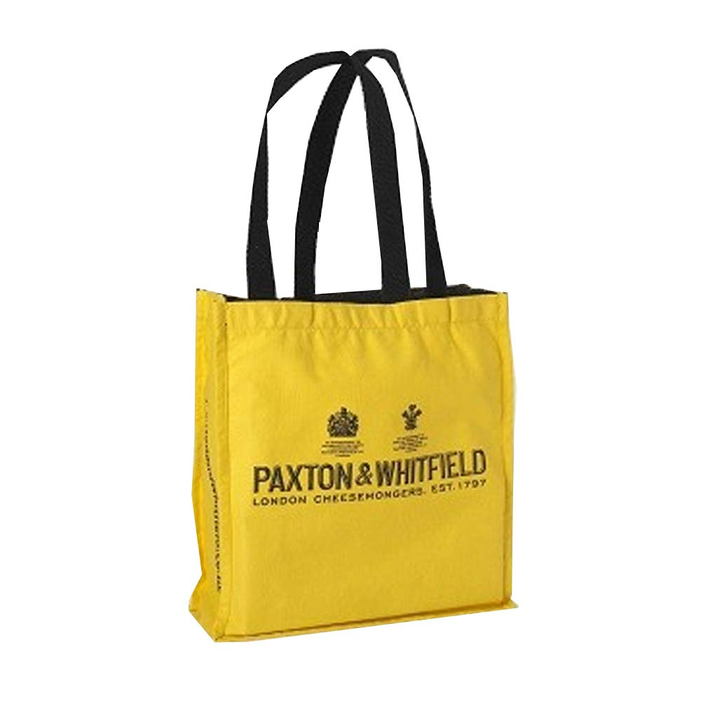 PAXTON /& WHITFIELD LONDON CHEESEMONGERS ECO SHOPPING BAG FOR LIFE YELLOW
