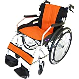 カドクラ kadokura 自走用車椅子 チャップスDB サンセットオレンジA101-DBAO