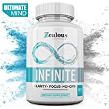 Infinite - NZT Nootropic Brain Booster Supplement - Limitless Enhance Focus, Boost Concentration & Improve Memory | Mind Enhancement with Amino Acids & DHA for Neuro Energy & IQ - 30 Day Supply