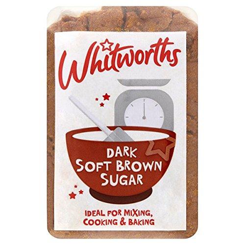 Whitworths Dunkel weicher brauner Zucker 500 g (Packung mit 5 x 500 g)