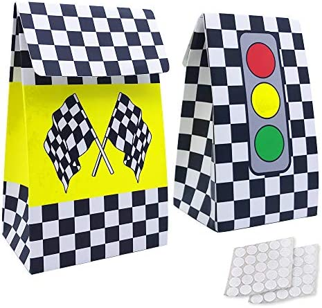 Checkered Racing Favors Birthday Supplies product image