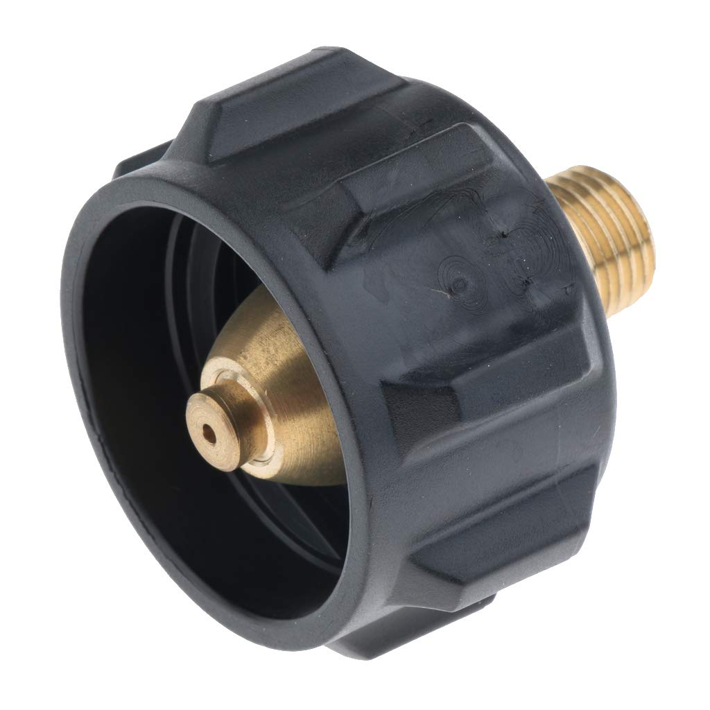 QCC1 Propane Adapter Gas Regulator Valve Fitting with Acme Nut 1//4 Male