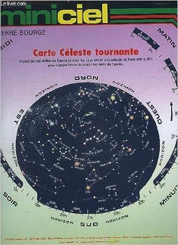 carte celeste tournante