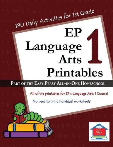EP Language Arts 1 Printables: Tina Rutherford, Lee Giles ...