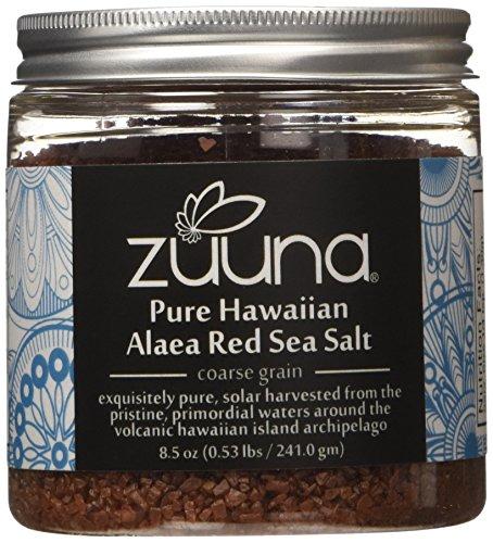 UPC 820103400558, Pure Hawaiian Alaea Red Sea Salt by ZUUNA® (Coarse Grain) 8.5oz; 100% Natural, Gourmet Sea Salt
