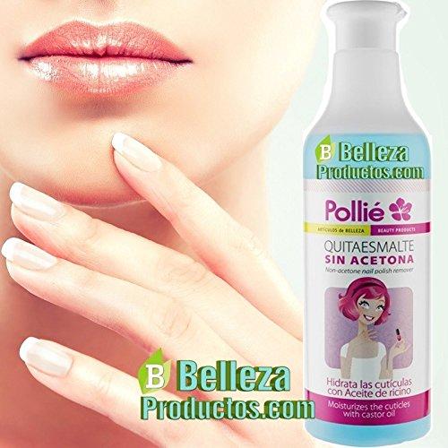 Pollie quitaesmalte sin acetona 500ml.: Amazon.es: Salud y cuidado personal