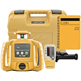 Topcon RL-H5B Self Leveling Horizontal Rotary Laser with Bonus EDEN Field Book| IP66 Rating Drop, Dust, Water Resistant| 400m Construction Laser| Includes LS-80L Receiver, Detector Holder, Soft Case