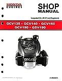 honda 190 engine - Honda GCV135 GCV160 GCV190 GSV190 Engine Service Repair Shop Manual