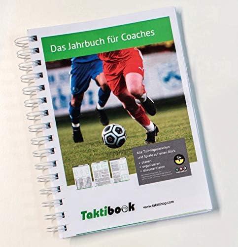 Taktifol Taktibook | Das Jahrbuch für Coaches | Workbook Playbook für Fußballtrainer