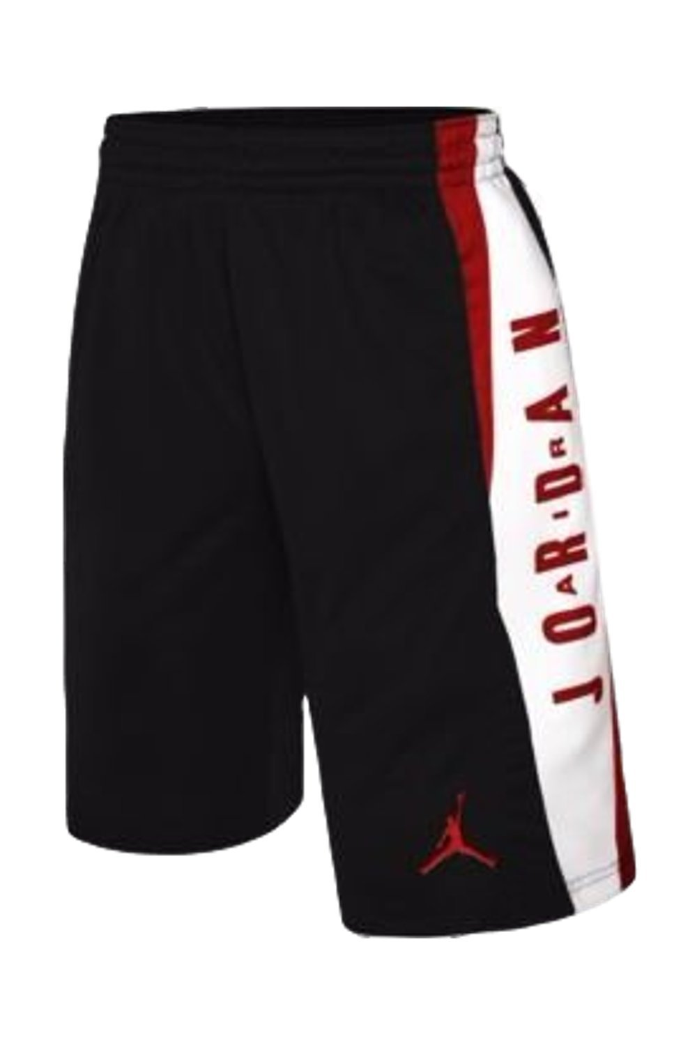Jordan Boys Knit Takeover Shorts (Black, Large)