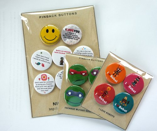 """My Chemical Romance Pinback Buttons Badge 1.25"""" (Set of 8) NEW"""