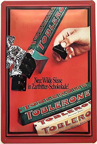 Deko7 - Cartel de Chapa (30 x 20 cm), diseño de Chocolate ...