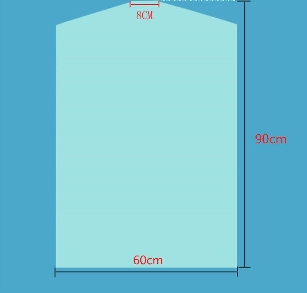 40pcs Dust Cover Garment Storage Organizer Bag Wardrobe Hanging Clothes (40pcs) by Risesun (Image #4)