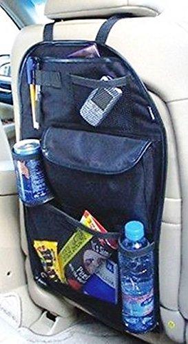 B.Ybaoyu Organizador para Respaldo de Coche Porta Objetos Color Negro fá cil instalació n Ref 1701 B.Y. accessories cars S.L.