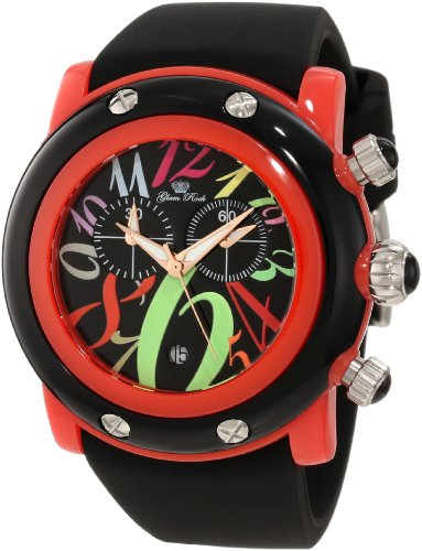 Glam Rock Women's GK1161 Miami Beach Chronograph Black Dial Watch