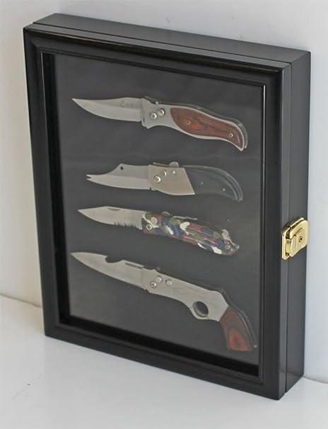 Amazon Knife Display Case Shadow Box With Glass Door Wall