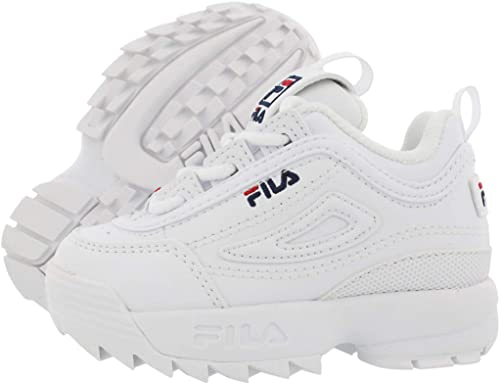 Fila Disruptor II Infant's White/Navy
