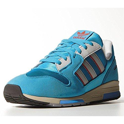 Adidas - ZX 420 Bold Aqua - Couleur: Bleu-Gris-Rouge - Pointure: 42.0