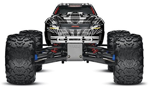 Traxxas T-Maxx 3.3: 1/10 Scale Nitro-Powered 4WD Monster Truck with TQi 2.4GHz Radio and TSM, Black (Traxxas Nitro Rc)