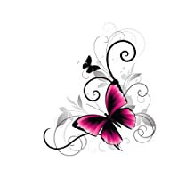 Yunnuopromi DIY 5D Diamond Painting by number Kits, diamante ricamo dipinti Art Craft for home decor, Flying Butterfly