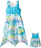 Dollie & Me Big Girls' Hankerchief Hem Sundress