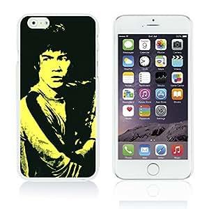 OnlineBestDigitalTM - Celebrity Star Hard Back Case for Apple iPhone 6 Plus (5.5 inch) Smartphone - Bruce Lee in Black Background