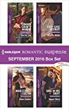 img - for Harlequin Romantic Suspense September 2016 Box Set: Conard County Marine\High-Stakes Colton\Cold Case Recruit\Safe in His Sight book / textbook / text book