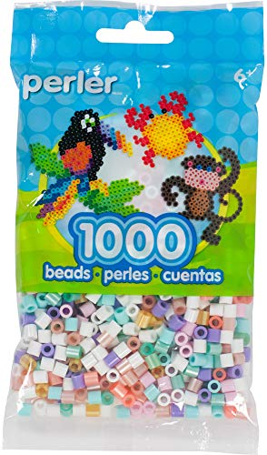 (Perler 80-15968 Assorted Unicorn Color Fuse Beads,)