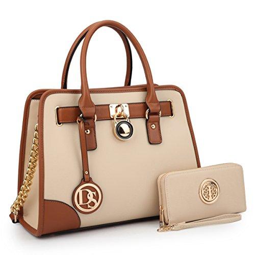 MKP Collection Fashion Woman Handbag and Wallet set~Beautiful Tote~Designer Satchel~Nice Purse (6892W)BG