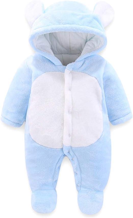 Shenhai Ropa de bebé Abrigos para bebés Mono Acolchado Bata con ...