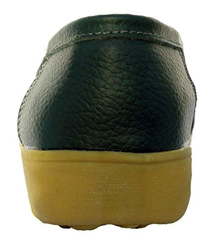 Obermaterial Schuhe in Eve Mokassin Leder aus On Leder aus Navy Slip von rqrB1p
