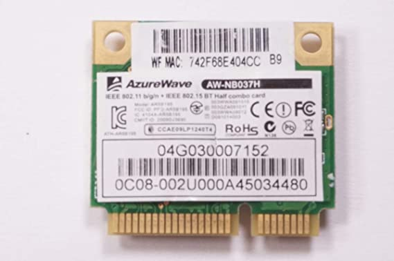 FMB-I Compatible with 0C012-00081000 Replacement for Asus Wireless Card UX305F-USM1