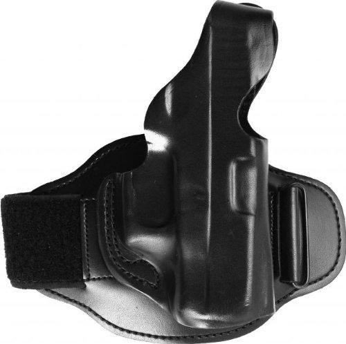 Desantis Leather Ankle Rig Holster Glock 26/27/33 Pistol Gun, Right Hand, Black from Desantis