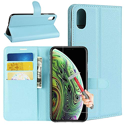 [eBuyLife] for iPhone XR Leather Case (Only 6.1