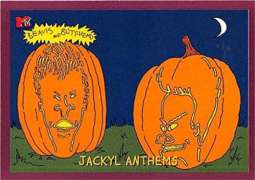 Beavis and Butthead trading card Halloween 1994 Fleer Ultra #6918 Velvet Border Edition]()